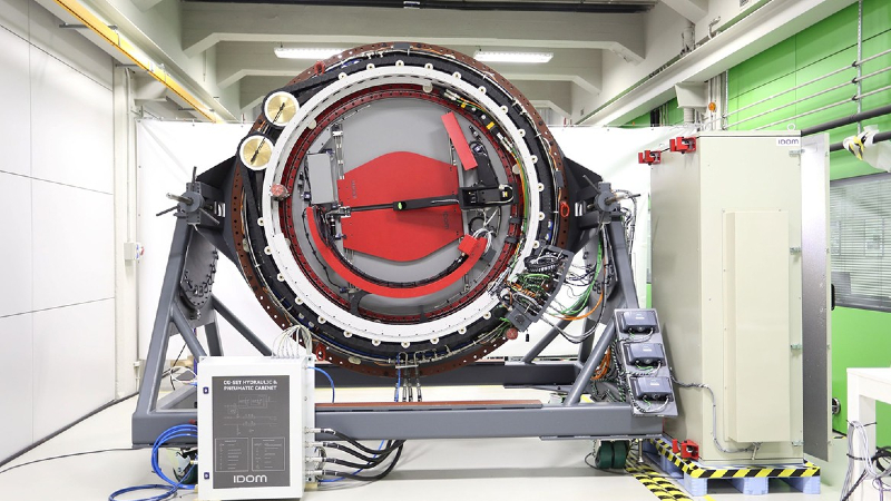 'Unconventional' direct drive motor provides extreme precision for giant telescope  Image