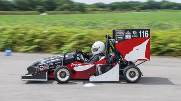 Data, fuel and aerodynamics key to Cardiff Racing's Formula Student successImage