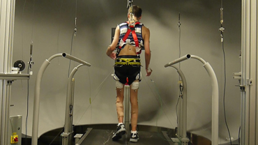 Treadmill robot helps fight cerebral palsy symptoms in childrenImage