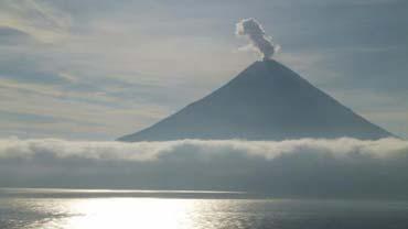 Alaska researchers detect volcanos via hearing Image