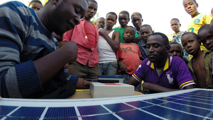 The Solaris solar charger launched in Tanzania last year