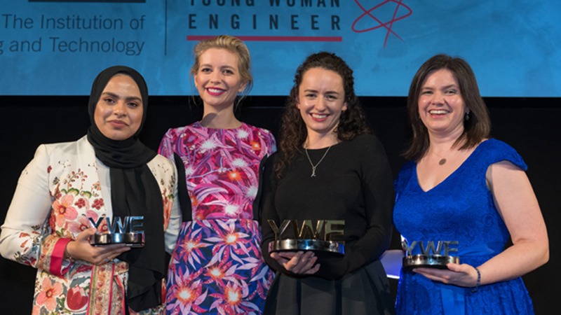 Award-winning mechanical, aerodynamics and software engineers to inspire other womenImage