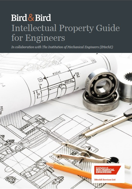 Bird and Bird Intellectual Property Guide for Engineers 2015 cover